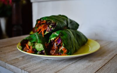 How to Make Easy Collard Green Wraps