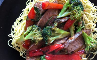 Love Your Leftovers: Sweet and Sticky Ginger Stir-Fry