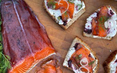 Blueberry Salmon Lox