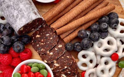 No-Bake Chocolate Salami