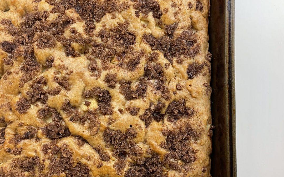 Cinnamon-Sugar Apple Cake